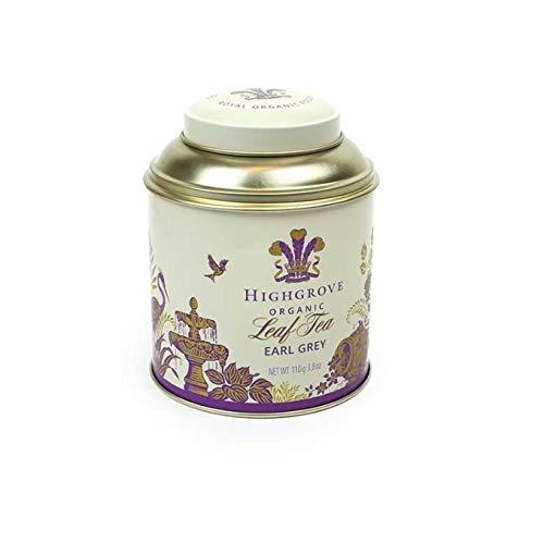 Highgrove Organic Earl Grey Leaf Tea 110g Caddy Tin ()