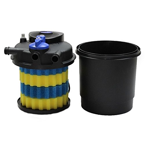 1600 Gal Pressure Pond Filter w/ 13w Uv Sterilizer Koi Fish