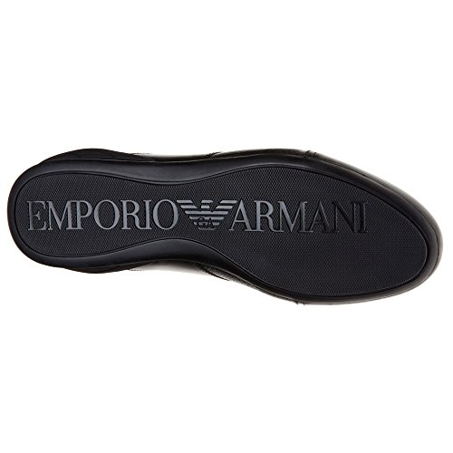 Emporio Armani Logo Sneaker Low Uomo Scarpe Nero