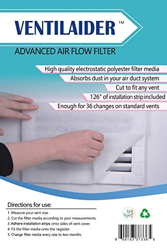 Ventilaider Complete Air Vent Filter Set 20