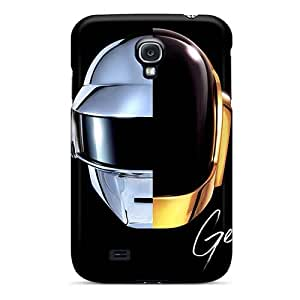 Scratch Protection Hard Phone Covers For Samsung Galaxy S4 (AKu4904ZkAZ) Custom Trendy Daft Punk Band Pictures