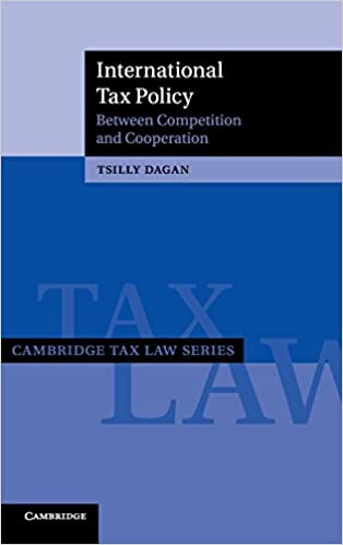 Resultado de imagen de International Tax Policy: between Competition and Cooperation