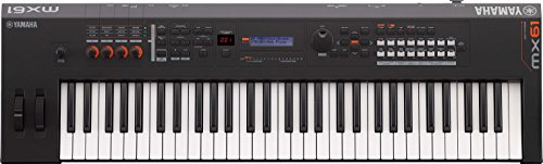 Yamaha MX61 Music Production Synthesizer, 61-Key, Black