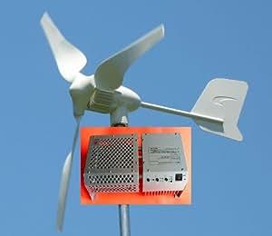 Windmax HY400-3 450 Watt Max 12-Volt 3-Blade Residential Wind Generator Kit