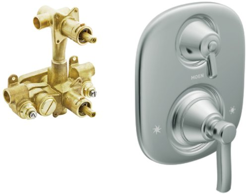 Moen TS4211-3330 Rothbury Moentrol Trim Kit with Valve Chrome