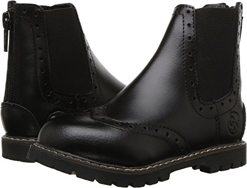 Old West English Kids Boots Unisex Bloom (Toddler/Little Kid) Black 7.5 M US Toddler ()