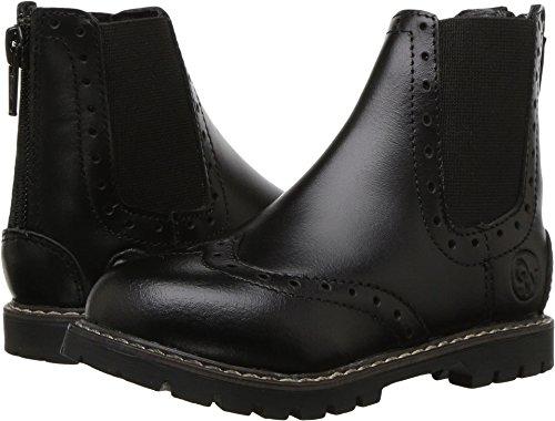 Old West English Kids Boots Unisex Bloom (Toddler/Little Kid) Black 12.5 M US Little Kid ()
