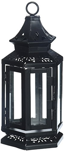 Set of 10 Black Stagecoach Lantern