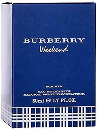 cd8b66519 Amazon.com: BURBERRY Weekend Eau De Toilette for Men, 1.7 Fl. oz.: Luxury  Beauty