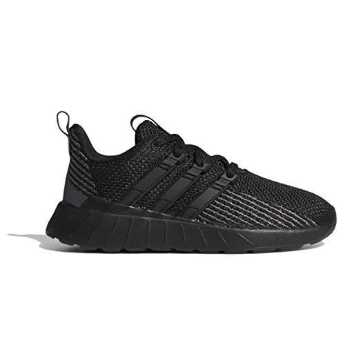 adidas Unisex Questar Flow Running Shoe, Black/Grey, 7 M US Big Kid