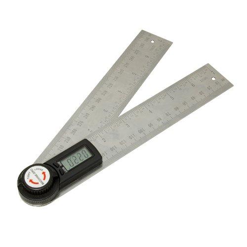 200mm Digital de 20.3cm regla de ángulo de lectura calibre