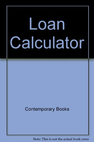 The Loan Calculator: Monthly Amortization Loan Schedule