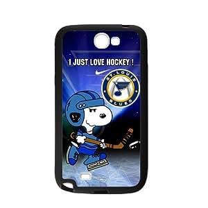 Custom Unique Design NHL St Louis Blues Samsung Galaxy Note 2 Silicone Case