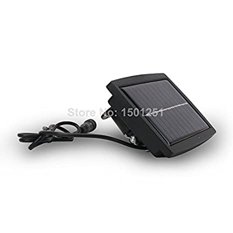 Amazon.com: Blanco cálido : Al aire Libre 10 W Reflector Solar impermeable led proyector lámpara al aire Libre del jardín del LED: Home & Kitchen