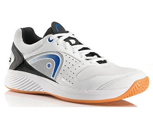 HEAD Sprint Team Mens Indoor Court Shoe (White/Blue/Black) (7.5)