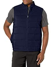 PGA TOUR Men's Ultra Sonic Mixed Media Vest