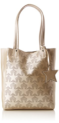 Tom Tailor - Serlina, Borse Tote Donna Oro (Gold)