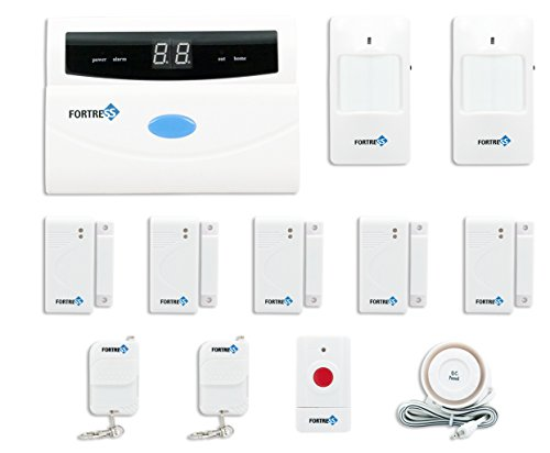 Fortress Security Store (TM) S02-A Wireless Home and Business Security Alarm System DIY Kit with Auto Dial, Motion