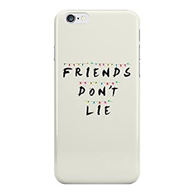 Luxuryhunters Stranger Things Friends Dont Lie White Background Tv