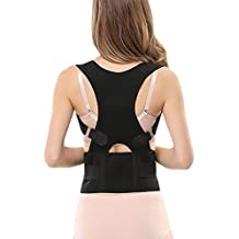 Back Posture Corrector Brace Posture Back Shoulder Pain Support Correction Waist Belly Belt for Men Women