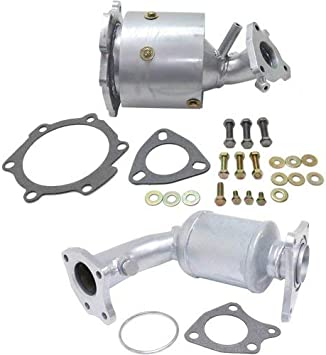 3.5L Rad Side Catalytic Converter compatible with 2005-2006 Nissan Altima 2004-2009 Nissan Quest 2004-2008 Nissan Maxima