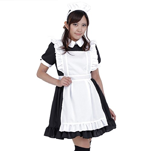 Japanese Maid Cafe Costumes - PATYMO Japanese Anime Cafe Maid Dress