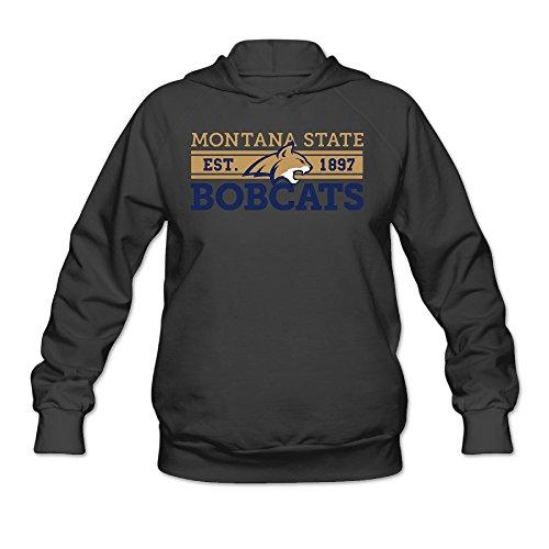 Price comparison product image ElishaJ Women's Hoodies Montana State University Black Size S