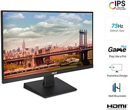 Asus VA27EHE Eye Care Monitor Full HD,Black,27″ Frameless 41x8otWPx1L