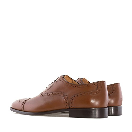 Andres Machado.5969.oxford Zapatos In Leather.made In Spain.Hombres Tallas Grandes: Us M13 To M16 Brown 2 Leather