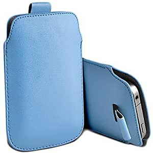 DUR Premium PU Pull Tab Leather Case Cover For iPhone 4 4s , Green
