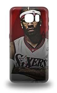 Snap On 3D PC Case Designed For Galaxy S6 NBA Philadelphia 76ers Allen Iverson #3 ( Custom Picture iPhone 6, iPhone 6 PLUS, iPhone 5, iPhone 5S, iPhone 5C, iPhone 4, iPhone 4S,Galaxy S6,Galaxy S5,Galaxy S4,Galaxy S3,Note 3,iPad Mini-Mini 2,iPad Air )
