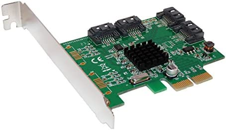 TARJETA CONTROLADORA PCI Express (PCIe) a 4 PUERTOS SATA 3 (SATA III) RAID 0, RAID 1 RAID 10 - Chipset MARVELL 88SE9230 - By Computer District