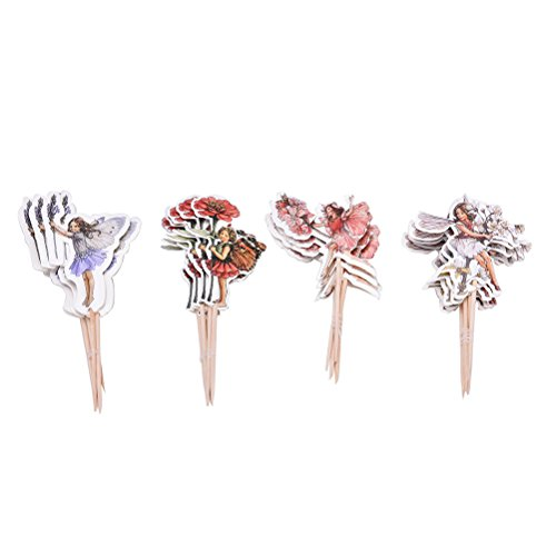 Price comparison product image 24 Count Mystical Woodland Fairy Cupcake Toppers