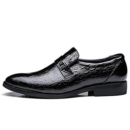 colore Dimensione Crocodile Classic Casual Nero Oxford Mens Business Fashion colore Formal 38 2018 Taglia Nero Vera Eu In Pelle Style 42 Shoes Luxury YRw6F