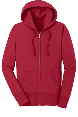 Core Fleece Hoody (Joe's USA(tm) Ladies Core Fleece Full-Zip Hooded)