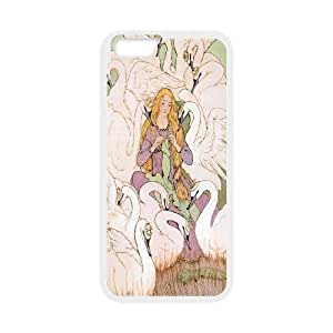 Cute Swan Hard Snap Cell Phone Case Cover for Iphone Case 6 5.5 Inch HSL464386