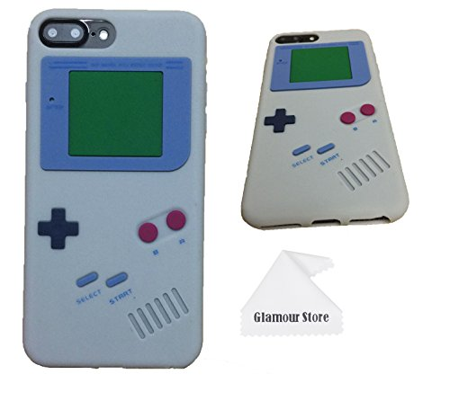 sports shoes 33dbe 62cf4 iPhone 7 Plus Case,Retro 3D Game Boy Gameboy Design Style Soft - Import It  All
