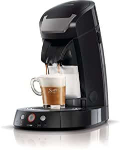 Philips Senseo Cappuccino Select - Cafetera monodosis, color negro
