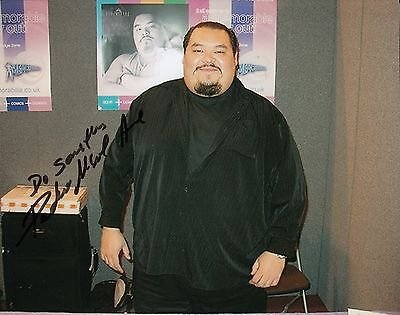 Pedro Miguel Arce signed Light of The Dead 8x10 photo w/coa Get Rich or Die Tryin
