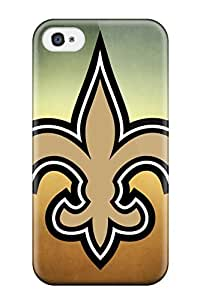 Excellent Iphone 4/4s Case Tpu Cover Back Skin Protector New Orleansaints