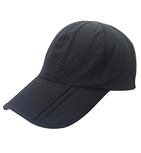 Sumolux Mens Womens Sun Hat Peaked Baseball Golf Cap Breathable Waterproof  Outdoor Quick-Drying Collapsible Portable Hats b04e61e3a7b