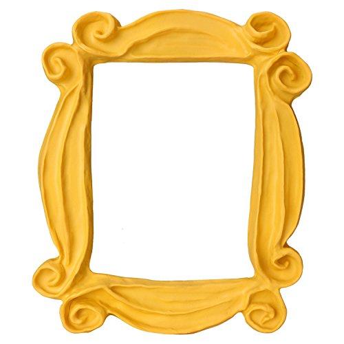 CQNET Friends Frame Yellow Peephole Handmade Door Frame As Seen on Monica