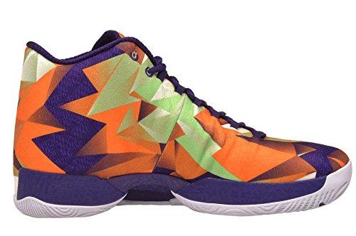 Nike - Air Jordan XX9 - BRIGHT MANDARIN WHITE LIGHT POISON GREEN 805