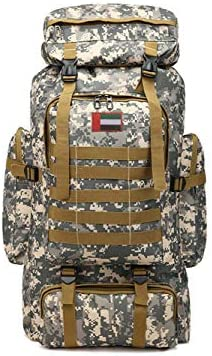 1510a204bd5f Ferdous Large Capacity 80L Backpack Camouflage Waterproof ...