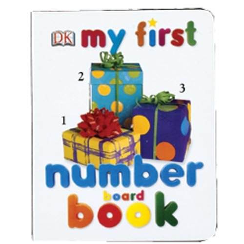 My First Number Board Book (My 1st Board Books)