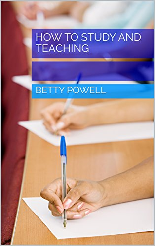 How to Study and Teaching