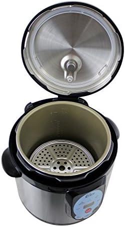 Carey DPC-9SS, Smart Pressure Canner & Cooker, Stainless Steel, 9.5 Quart