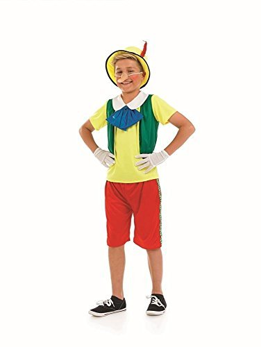 Fun Shack Child Pinocchio Costume - AGE 10 - 12 YRS (XL) by Fun Shack