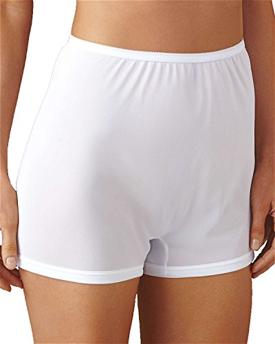 Dixie Belle Flare Leg Panty, White, 10, - Briefs Belle Womens