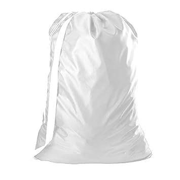Amazon.com: B&C - Bolsa de nailon para la colada con correa ...